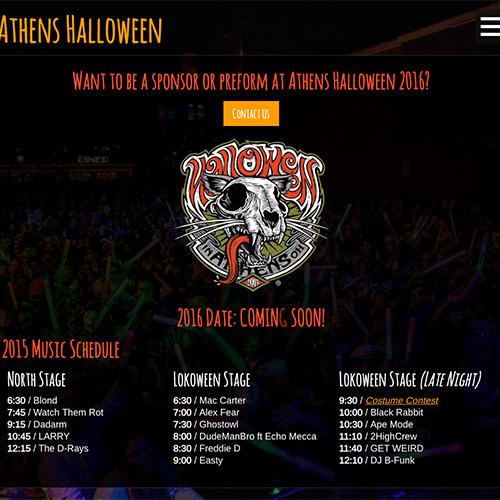 Athens Halloween