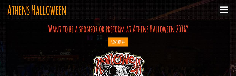 Athens Halloween site