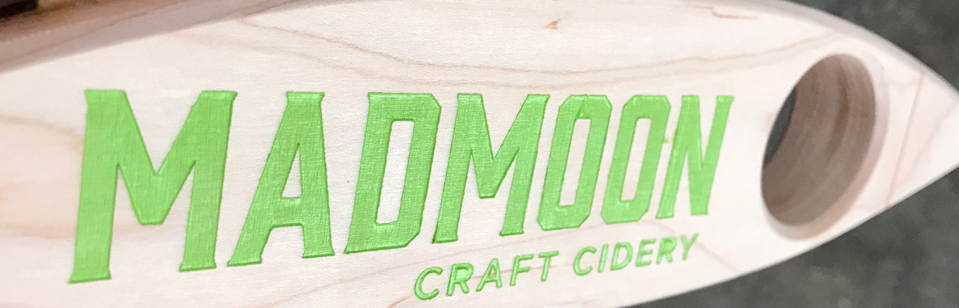Mad Moon Craft Cidery Cutout Handle