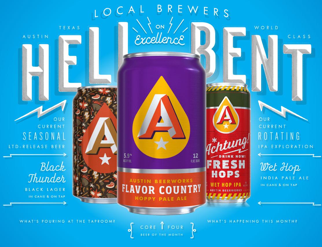Austin Beerworks Branding